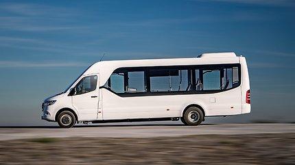 """""""Mercedes-Benz Sprinter City 75"""" pripažintas geriausiu metų nedideliu autobusu"""