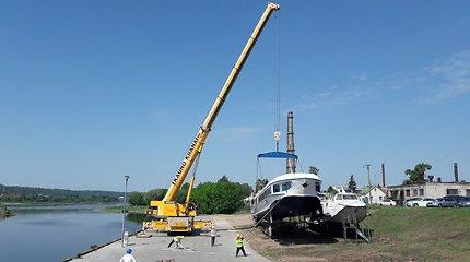 """Stringant kateriui """"Raketa"""" reikalingų leidimų išdavimui, tikimasi keisti laivo klasę"""