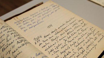 Lietuvos centriniam valstybiniam archyvui perduotas diplomato Petro Klimo dokumentų archyvas