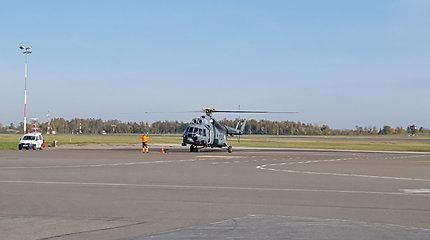 Kariškių sraigtasparnis donorinius organus skraidino iš Latvijos