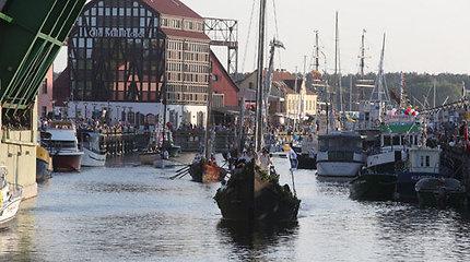 Klaipėdos miestas ir turi upę, ir ne