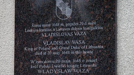 Merkinėje atidengtas paminklas Vladislovui Vazai