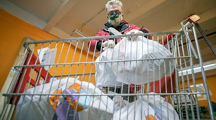 Apie 186 tūkst. nepasiturinčiųjų gaus paramą produktais ir higienos reikmenimis