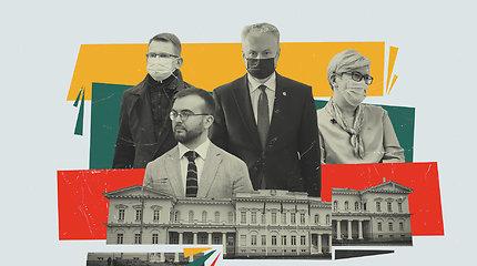 I.Šimonytės Vyriausybės veiklos startas: ką apie jį mano G.Nausėda?