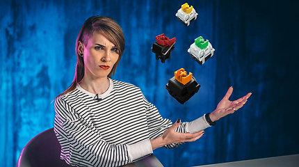 Ragana ir TECH: viskas apie Razer mechaninius mygtukus