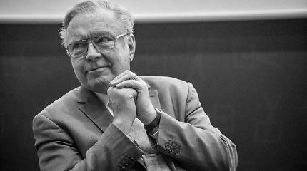 Kino legenda Krzysztofas Zanussi Vilniaus knygų mugėje pristatys intelektualių pokalbių knygą