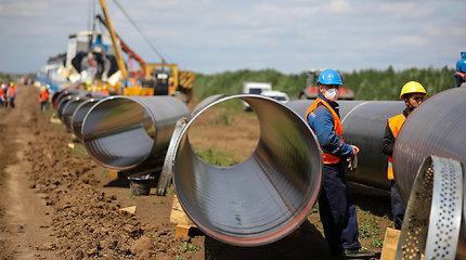 """Serbijoje atidaryta Rusijos ir Turkijos dujotiekio """"TurkStream"""" dalis"""