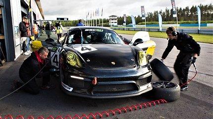 """Porsche Baltic"" komandos pasirodymas Suomijoje"