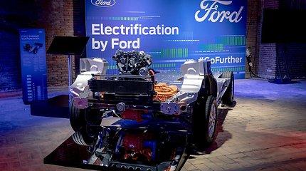 """""""Ford"""" įvardijo ateities planus ir davė pažadą Europai"""