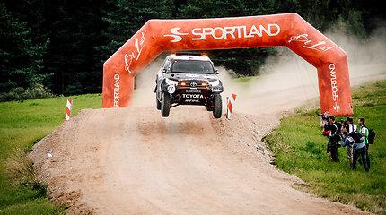 """B.Vanagas išvažiavo į """"Rally Estonia"""" trasas: visiškai naujas potyris"""