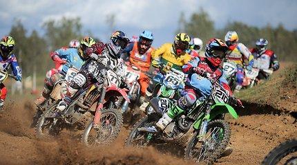 Atkakliose varžybose Utenoje paaiškėjo Lietuvos motociklų kroso čempionai