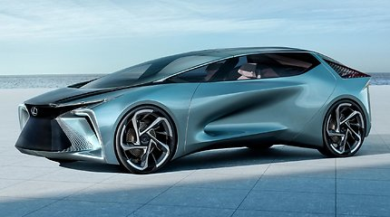 """Lexus"" pristatė ateities automobilį: elektrifikuotas LF-30"