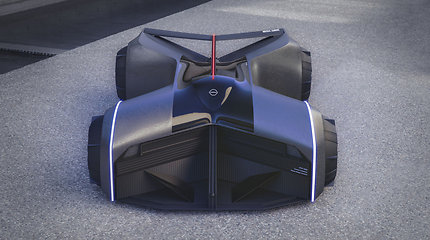 """Nissan GTX-R"" koncepcinis automobilis"