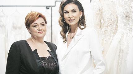 Prabangaus salono atidaryme Vilniuje – garsūs svečiai ir prabangios suknelės