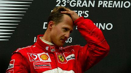 Michaeliui Schumacheriui bus atlikta dar viena operacija