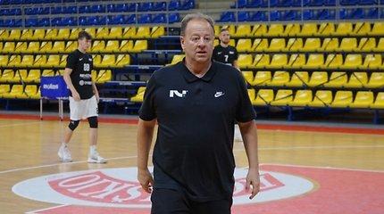 NBA patirties turintis Kėdainių treneris: apie Šaro medžioklę ir pokalbį su A.Karnišovu