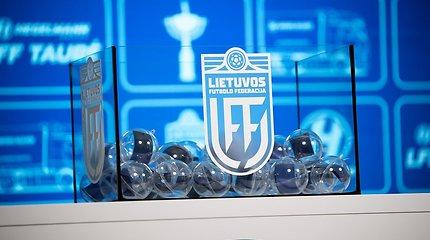 LFF taurės burtai lėmė dvi A lygos komandų akistatas pirmajame etape