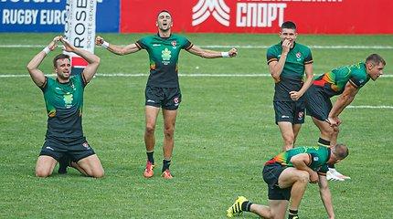 Staigmenos nesibaigia: Lietuvos regbininkai pateko į Europos čempionato turo finalą