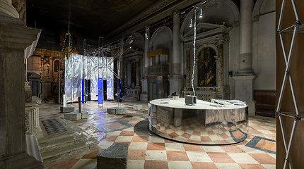 Lietuvos erdvės agentūros laboratorija Venecijos architektūros bienalėje