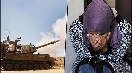 Per karo veiksmus Izraelyje jau sužeista 1530 žmonių – 2 mln. Gazos Ruožo gyventojų skubiai reikia pagalbos