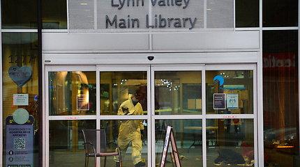 Kanadoje pareikšti kaltinimai prie bibliotekos žmogų subadžiusiam užpuolikui