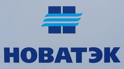 """Rusijos pagrindinė SGD eksportuotoja """"Novatek"""" pirmąjį šių metų ketvirtį uždirbo pelno"""