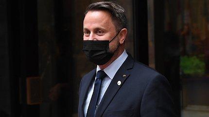 Liuksemburgo premjeras paguldytas į ligoninę būklės stebėjimui dėl COVID-19