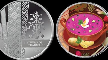 Tradiciniai lietuviški šaltibarščiai puikuosis ant sidabrinio medalio
