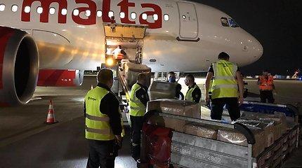 Kipras ir Malta suteikė Lietuvai humanitarinę pagalbą