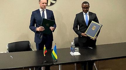 Lietuva ir Ruanda atveria kelius ekonominiam ir politiniam bendradarbiavimui
