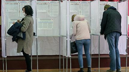 Rusija teigia užfiksavusi užsienio kišimosi į parlamento rinkimus atvejų