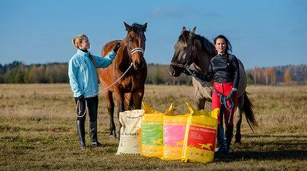 Lietuvai – didžiulis įvertinimas: Tokijo žirgų olimpiados elitui – pašarai iš Šilutės ūkio