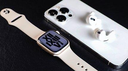 """Naujieji """"Apple Watch Series 7"""" jau Lietuvoje: kuo jie išskirtiniai?"""