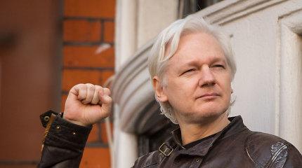 JK vidaus reikalų sekretorius pasirašė sprendimą dėl J.Assange'o išdavimo JAV