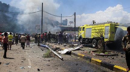 Saudo Arabijos koalicija skelbia nukovusi 160 Jemeno sukilėlių