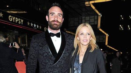 Kylie Minogue sužadėtinis pakurstė gandus apie jau neva įvykusias vestuves