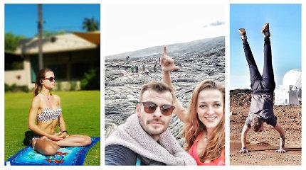 M.Rainio ir M.Jašinskytės Havajai: rado ugnikalnį, kalnus su sniegu ir saulėtus paplūdimius