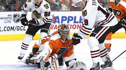NHL čempionai reguliariajame sezone patyrė antrą pralaimėjimą