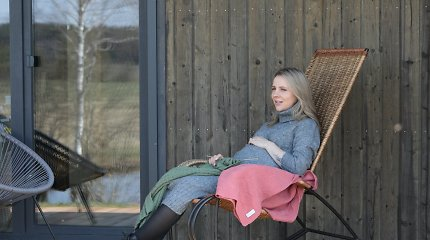 Antros atžalos besilaukianti Ieva Narkutė nėrė į verslą: išpildė ilgai puoselėtą svajonę