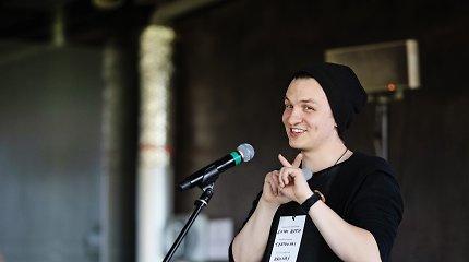 Izraelio pilietybę turintis, Lietuvoje gyvenantis režisierius G.Aleksa: nuėjęs į banką pasijutau lyg prekiaučiau ginklais