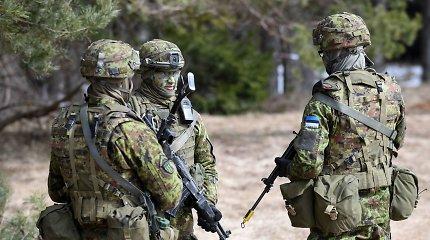 JAV strateginiai bombonešiai dalyvavo pratybose Estijos oro erdvėje