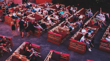 Kaune vienai savaitei atidaromas naujas kino teatras