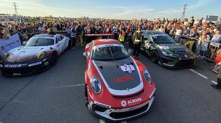 """""""Aurum 1006 km"""" lenktynių finišas: nugalėtojas paaiškėjo jau pirmąją valandą, rekordinis TCR pasirodymas"""