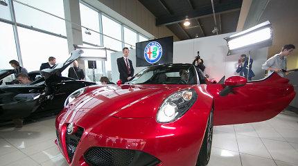 """Vilniuje – išskirtinis """"Alfa Romeo 4C Spider"""""""