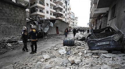 Rusijos kariuomenė paskelbė ugnies nutraukimą Sirijos Idlibe
