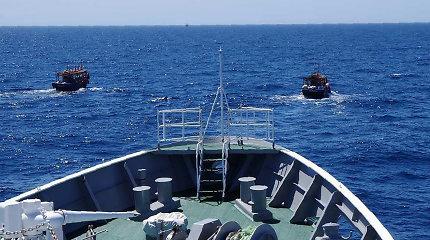 Rusijos pasieniečiai apšaudė Šiaurės Korėjos žvejų laivą