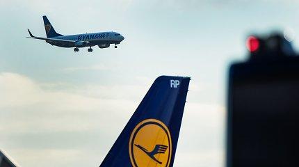 """""""Ryanair"""" vadovas tikisi, kad vasarą keleivių srautai pasieks 70 proc. įprastinių"""