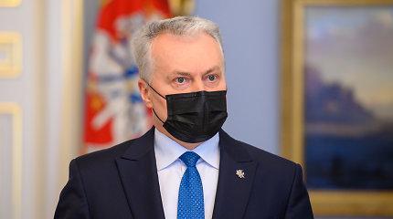 G.Nausėda su Lenkijos prezidentu aptars situaciją Ukrainoje