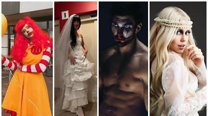 Išrinkite geriausią Helovino kostiumą: kas iš žinomų žmonių pataikė į dešimtuką?