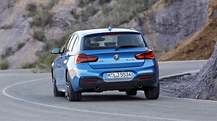 Naujausias 1-os serijos BMW siūlo dar daugiau sportiškumo
